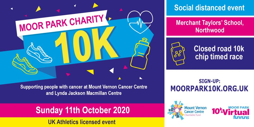 Sign up to take part in this year's Moor Park 10k