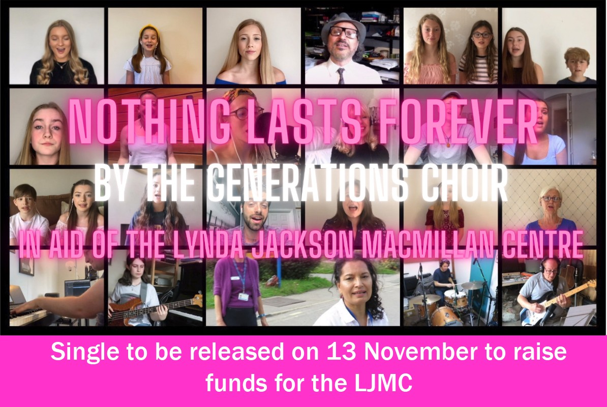 Nothing Lasts Forever - raising funds for the LJMC
