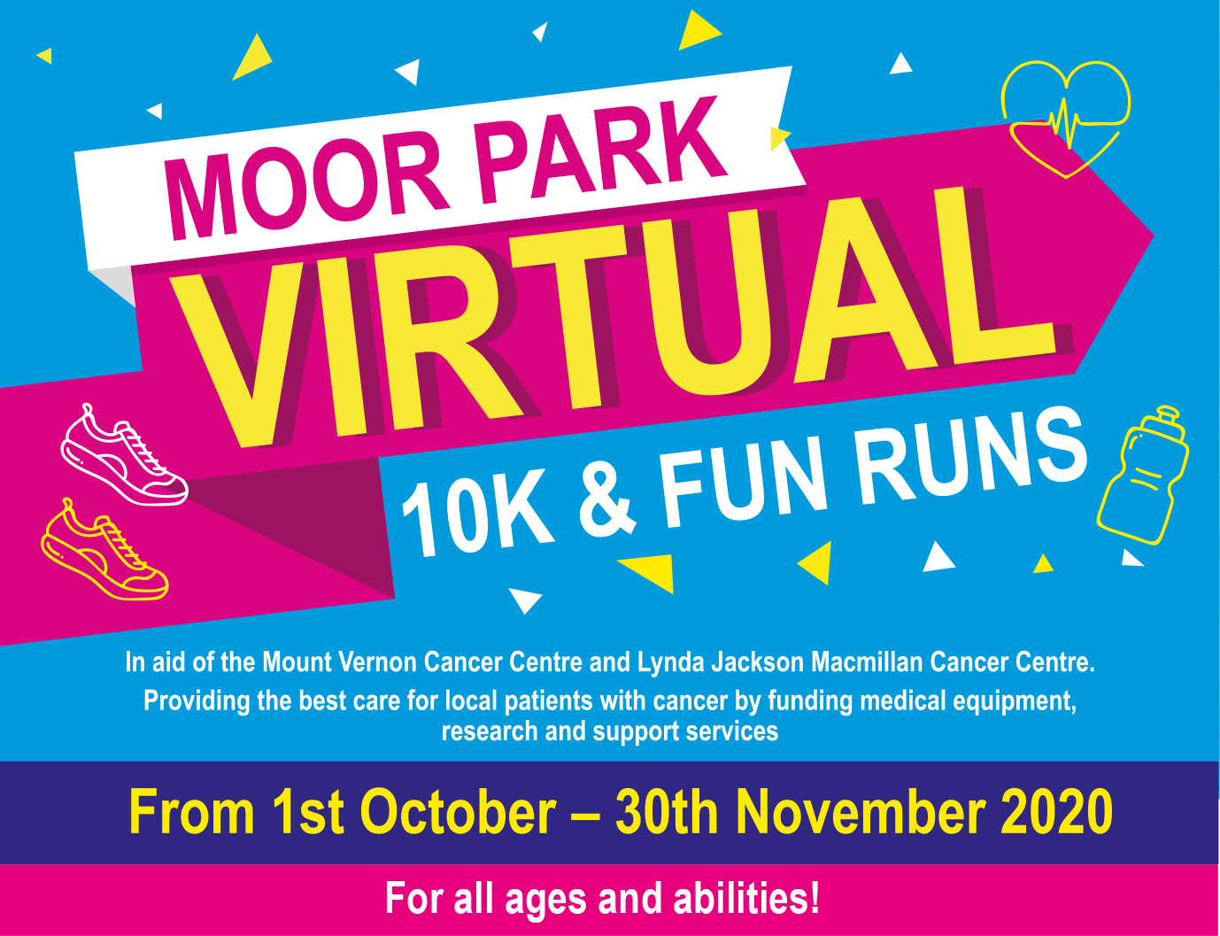 The Virtual 10k has been extended till the end of November 2020